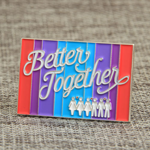 Better Together Lapel Pins