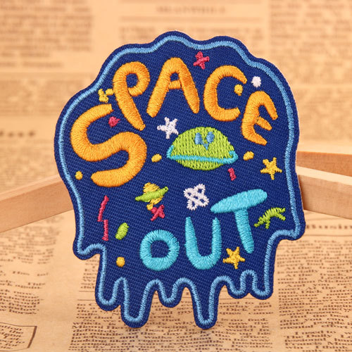 Space Out Custom Made Patches