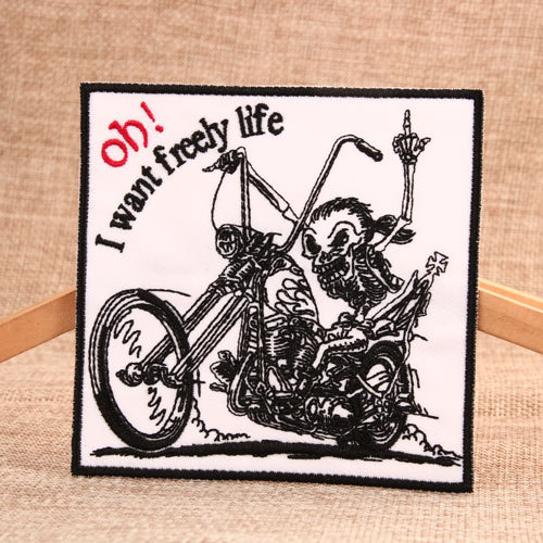 Motorcycle Custom Made Patches